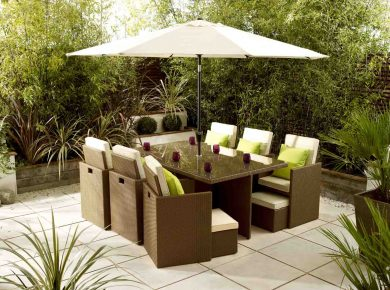 Modern Outdoor Furniture for Summer Retreat